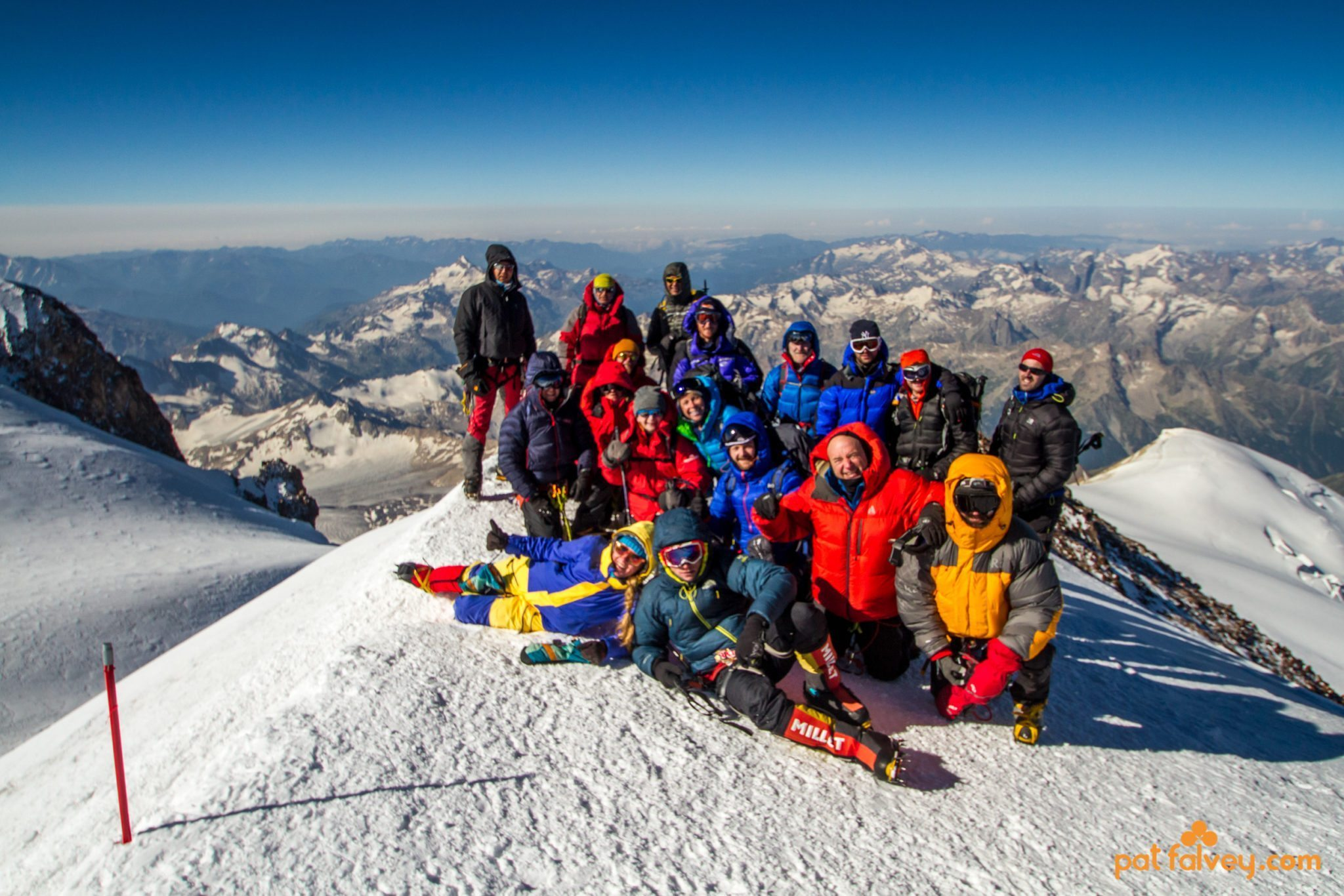 Mount elbrus pat falvey adventure travel expedition hiking a seventh summit snow and for Travel expedition gear