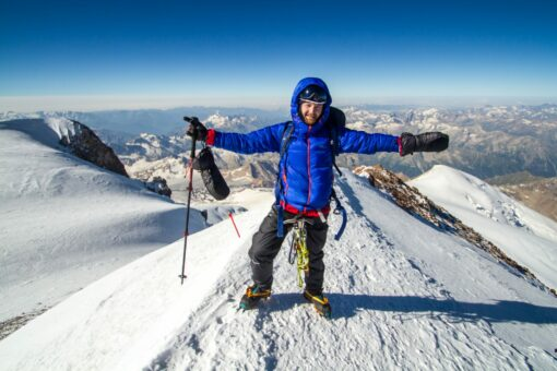 Summit of Elbrus top of Europe