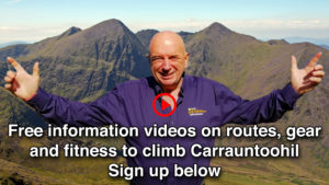 Pat Falvey sign up Carrauntoohil webinar