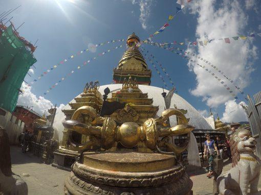 Buddist temple in Kathmandu