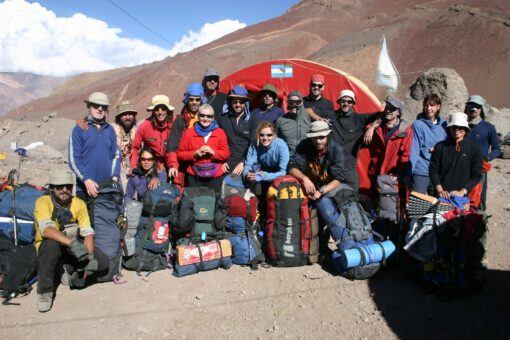 Team at Aconcagua