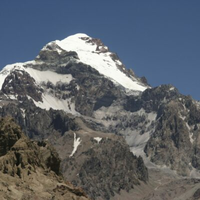 Aconcagua, South Americas highest mountain