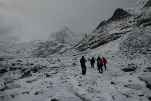 Carrauntoohil after a snowfall