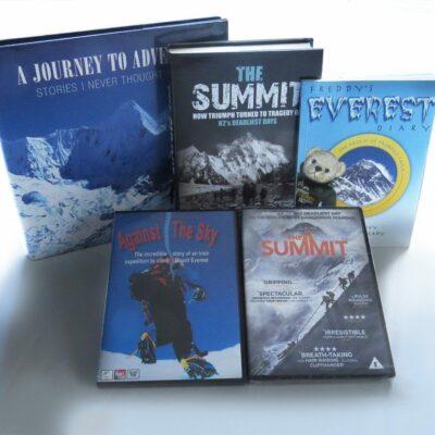 Pat Falvey adventure books and dvd