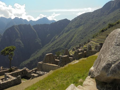 View from Machu Picchu
