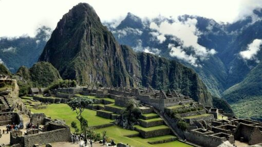 View of Machu Picchu