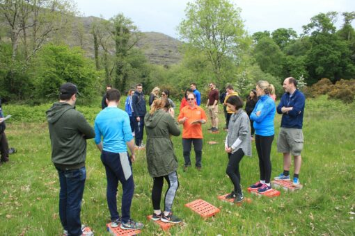 Pat Falvey Courses | Team Building