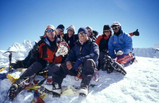 Summit of Island Peak Pat Falvey