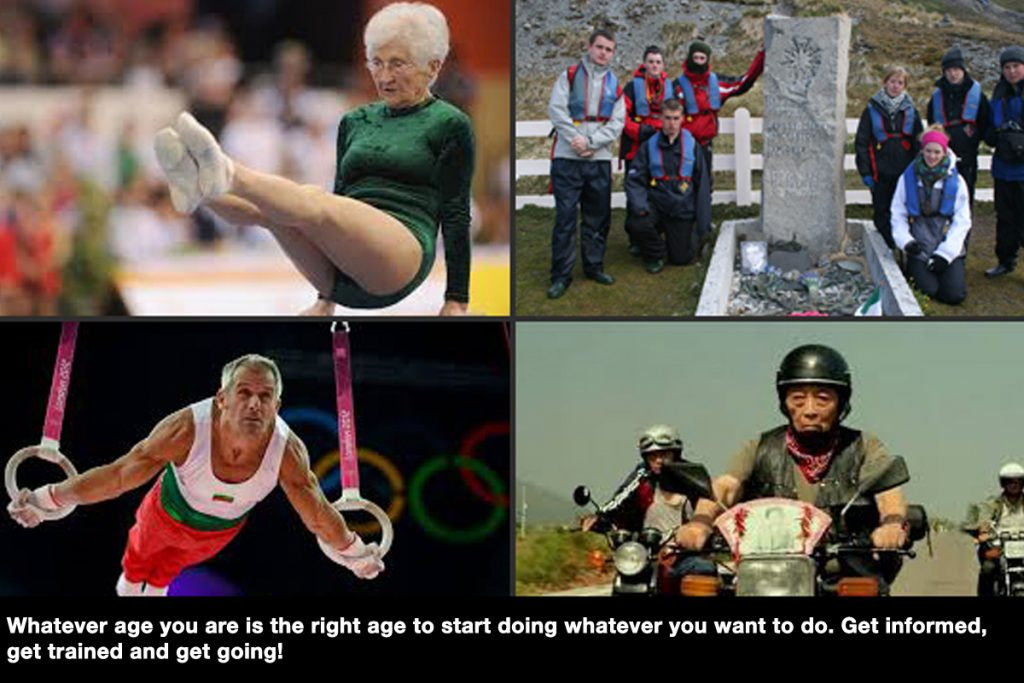#Age is no barrier