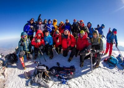 Mt Elbrus Summit 2017