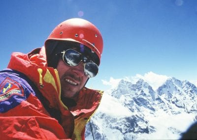 Pat Falvey on Ama Dablam