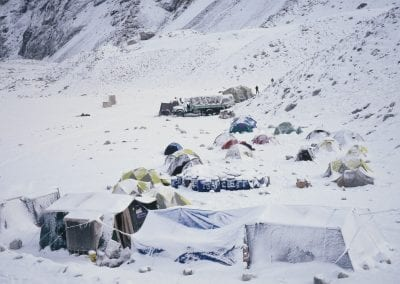 Advanced bace camp Everest Snowed in 93