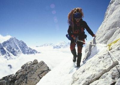 Ama Dablam climbing