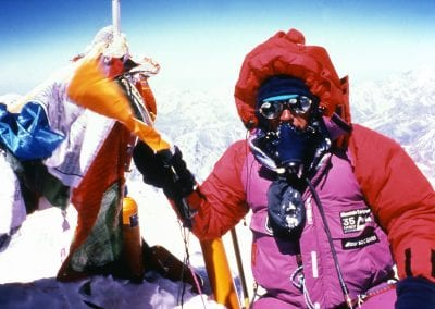 Everest-Pat on summit 1995