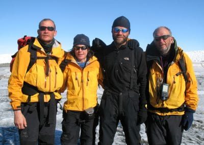 Greenland team & John