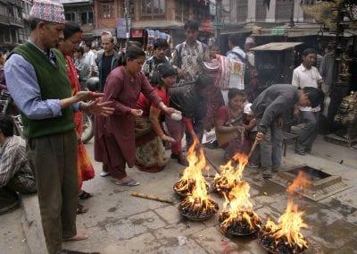 Puja in Katmandu