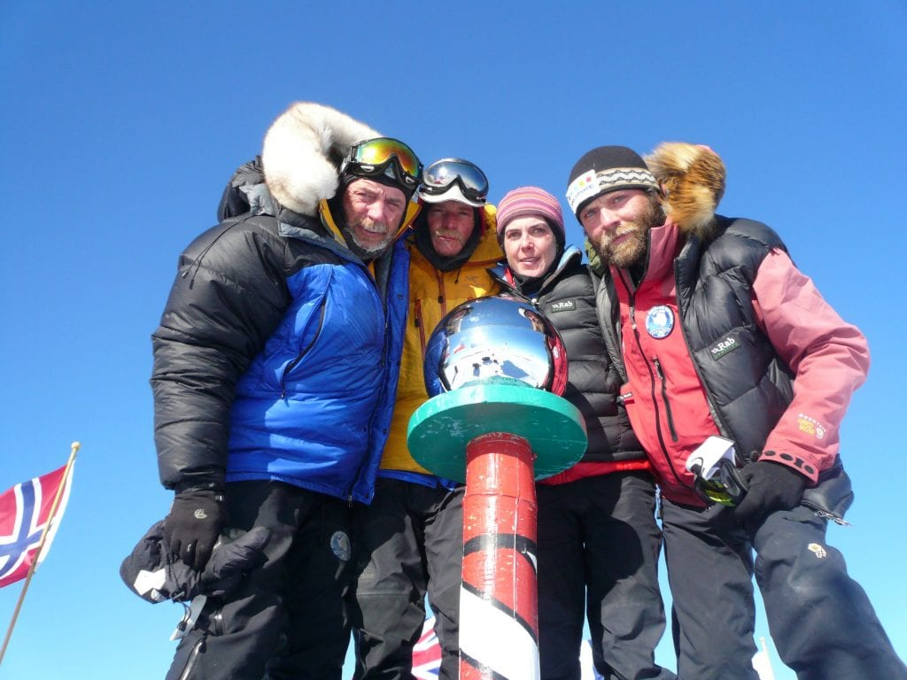 First Irish team to the South Pole