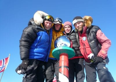 First Irish team at South Pole