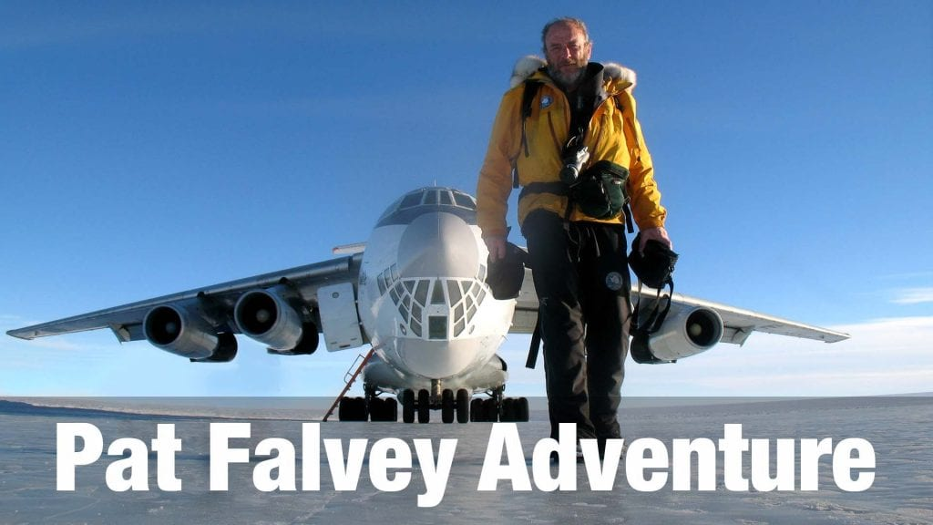 Pat Falvey Explorer adventure show reel and bio.