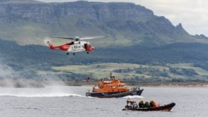 Irish coast guard rescue