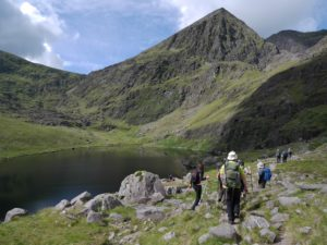 Carrauntoohil and Lake