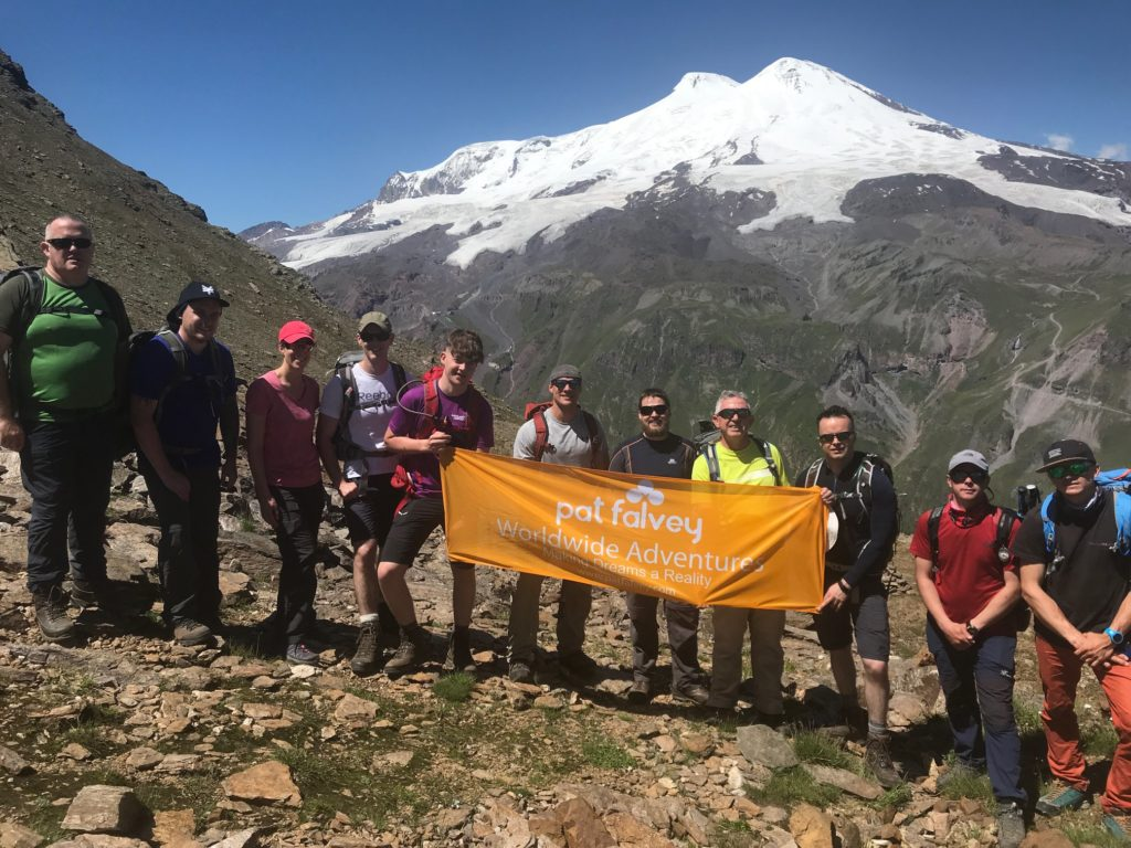Mt Elbrus Expedition July 2019
