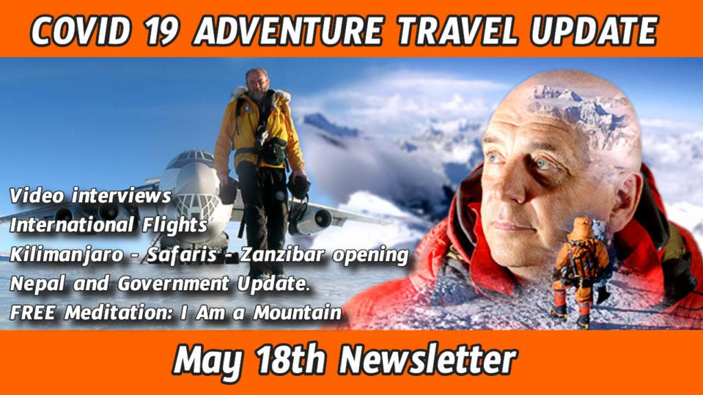 Pat Falvey COVID-19 Adventure Travel update – Nepal – Africa – Worldwide – Flights